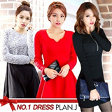 ★FLAT PRICE★ 2015 BEST DRESS / Korea NO.1 PLAN.J [FREE SHIPPING]