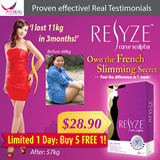 [LIMITED 1 DAY BUY 5 FREE 1! Free Gift worth $22! UP $118!] RESYZE™ Curve Sculptor ❋ Safe Slimming And Weight Loss in 1 Week! Block Carbs efficiently!