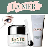 La Mer eye balm intense 5ml + moisturizing cream 7ml (eye bags and wrinkles)