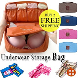 [BUY 2 FREE SHIPPING]New Listing!Clothing Underwear Storage Bag/Underwear Pouch/Versatile Package/Traveling Necessities