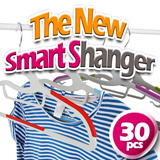 [In Singapore] The new SmartS Nonslip Dress Hanger 30pcs / home / household / KANO