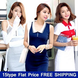 ★BUY1 GET1 FREE★ Best Dresses of All Time PLAN.J / Mini dress t shirts blouse worlwid trendy items sleeveless beach w