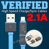 ★ BELOW COST 50¢ MEGA SALE ★ VERIFIED 2.1A X-SPEED REMAX BELKIN GRIFFIN GOLF High Speed Fast Rapid Quick Charge/Sync/Data Cables Lightning 30pin Micro USB USB3.0 Multi Connector