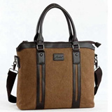 Men Sling Shoulder Canvas Bags / Laptop Bags / Formal Casual Fashion Bags