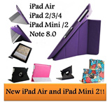 [BUY 1 GET 7 FREE!]New ipad  Air 2/3/4/mini/mini with Retina case