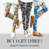 [Buy 1 get 1 Free + Free Shipping]YU98 NEW ARRIVALS!★Quality Fashion Fall Winter Leggings - Polka dots Stripes Prints Lace Skirt Pants Stockings