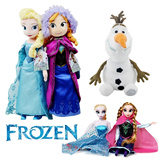[free shipping]Frozen / ice romance / Adventure queen Plush / figures / Anna /Elsa dolls /olaf Xuebao u88