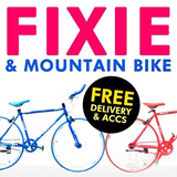 {ONE STOP BICYCLE SHOP}Branded Fixed Gear Bicycle/Single Speed/Trendy Fixie/Road Bike Frame/Mountain Bike/Sex/Fitness/Bicycle/100% Assembled/700c Slim Tire/Latest Design/Xiaomi Redmi Watch Wallet