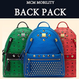 【EMS FREE!!】★MCM BACKPACK★ MCM DUAL STARK SMALL/MEDIUM/ bag / MCM / wallet / MCM bag