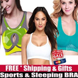 ★Stock SG/GSS Free Gift★/High Quality Wendy Sports Bra/Genie Bra/Push Up/ComFortable BRA/Wireless BRA/