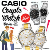[CHEAPEST PRICE IN SPORE] *CASIO GENUINE* Couple Watch Series 2! Free Shipping 1 year warranty and Free Box!