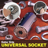 [SUPER TIME SALE]Universal Multi Socket Tool / Gator Grip Made in USA / Multi Size / patented Nuts Bolts Fasterner / Christmas Gift KANO