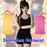 CHEAPEST!2014 COLOURFUL WOMEN SLEEVELESSS TEE TOPS【buy 2 free shipping]