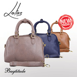 BAGTITUDE Lotus Top Handle Bag - Free Shipping - Women Handbag / Tas Wanita / Shoulder Bag / Tas Jinjing / Tas Tangan