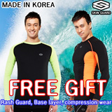 ★KOREA BRAND★2014 New Arriva★ compression Sports Functionality Wear korea brand rash guard shirts long and bottom made in KOREA / SKIN GUARD
