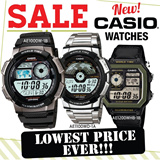 [CHEAPEST PRICE IN SPORE] *CASIO GENUINE* AE1000 DIGITAL WATCH SERIES! Free Shipping and 1 year warranty!