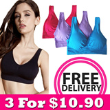 [Quality Assured] Any 3 from $10.90 NEW! Magic Bra Gen 2 / Bandeau Bra -  Removable Bra Pads Included! 75% OFF