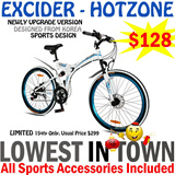 Best Price Best Seller: 21 speed EXCIDER MTB from Authorized Local Agent - 26/24 inch Korean folding mountain bike with double disc brakes