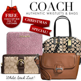 COACH READY STOCK IN SG! Affordable Brand New Authentic Coach Bags. GREAT SALE for CHRISTMAS!