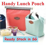 [Item in Singapore] Handy Lunch Pouch / Cooler bag/Warmer Bag/