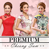 Best Quality Best Seller CNY Cheongsam Qipao Natural Silk Modern Improved Plus Size Chinese Dress Oriental Traditional 旗袍