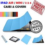 ORIGINAL iPad Air 2 3 4 5 6 THE NEW iPad Mini 2 3 RETINA DISPLAY Latest Smart cover WITH FREE GIFTS!