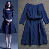 Premium Quality Denim Work Dress S - L