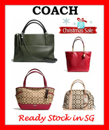 AUTHENTIC COACH READY STOCK IN SG-LATEST DESIGNS-GUARANTEED