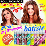 $7.80 LIMITED OFFER: 50% OFF Batiste Dry Shampoo(200ml) UK NO.1 DRY SHAMPOO / Fresh Fluffy and Volumized All Day!