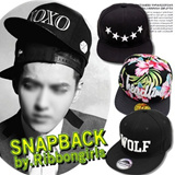 ★Korean NO.1 Snapback★K POP STAR CAPS◆Unisex◆hat/cap/HIP HOP/XOXO/GIYONGCHY/3+1 Specialsale!!/2014 new product arrival