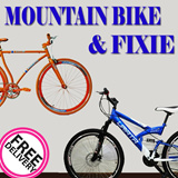 {ONE STOP BICYCLE SHOP}Branded Fixed Gear Bicycle/Single Speed/Trendy Fixie/Road Bike Frame/Mountain Bike/Sex/Fitness/Bicycle/100% Assembled/700c Slim Tire/Latest Foldable Bike/Bicycle/Health/Healthy
