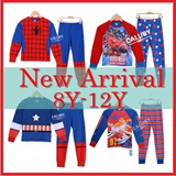 ★Mamas Luv★29 January New Arrival Kid Pajamas big size for boy and girl 8y-12y