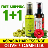 Aspasia Olive and Camellia Hair Essence 100ml 1+1 ☆sellers recommend☆ ★good price and better quality★
