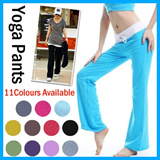 Yoga Pants at $12.90 (Worth $35.90). 12 Colours Available/Slim thin women milk silk yoga pants sports pants dance pants large size suitable for pregnant lady