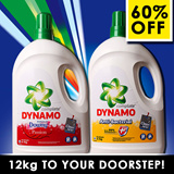 FREE DELIVERY! CARTON DEAL! DYNAMO simply the BEST Liquid Detergent - Anti-bacterial - Colour - Washes Clothes Perfectly and Remove Stains Gently with Refreshing Fragrance.Cleaner Clothing for Washer