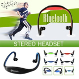 ONLY TODAY 16.91 ▶New Sports Bluetooth Stereo Headset◀GDC-True Freedom For Music and Telephone Conversation/Sportive look and Ergonomic design/ 2 styles are available