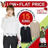 ★darllyshop]Korea Open Market Best Selling blouse / Ruffles Blouse