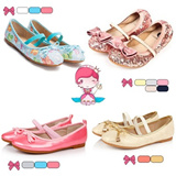 【M18】Spring new arrivals little girls' shoes/ High quality leather and low price cute girls' shoes/ Princess Shoes/ sweet bow kids' shoes/ Korean style/ fashionable and casual