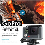 [GOPRO]NEW GOPRO HERO 4 BLACK EDITION/ Action Camera | Imported Set