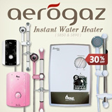Aerogaz Instant Water Heater - S850 and S890
