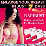 [TRUSTED LOCAL SELLER] RAPIBUST Breast Enlargement Mask 4 Boxes(16pcs) ♥ For Your Beautiful Breast ♥ It Works On Everyone ♥ Build Your Confidence in Just 7 Days
