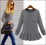 ★Limited Quantity!★Winter Sweet Style Knitting Wool Winter Sweater Cardigan Blouse Shirt