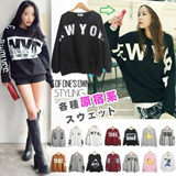 Japnese style Lovers Hoodies/long sleeve T-shirt/ Sport swear