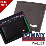 [Tommy Hilfiger] Wallets for Men /100% Authentic/BEST ITEMS for gift/FAST SHIPPING in SG/christmas gift best wallet