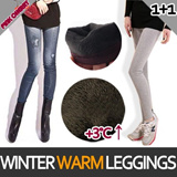 ★Buy 1 Get 1 Free ★*/Keep Warm Up 3C temperatures/ Winter Leggings/Winter Trip Warm/Napping Jean Leggings/Winter Jean Leggings/Fur Leggings/Jeggings
