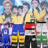 [Summer New Arrival]EXO XOXO Unisex Cotton Short Pants/Korean Star Slimilar Shorts/Leisure Five Pants/XOXO WOLF/Korean Star EXO