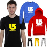 New Products!US BURTON Arrow Pattern Printed T-shirts Hoodies Pants Collection/Short Sleeves T-shirts/Long Sleeves Sweaters Hoodies/Sports Pants/Couple Sportswear/Casual Clothes/Size S-XXXXL