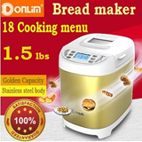 Donlim-Golden bread maker/DIY for bread/enjoy healthy/provide english manual