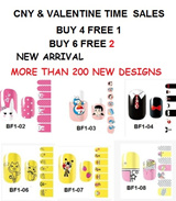 ALL SERIES CNY DESIGNS★K/C/MELODI/NF LV Series★NEW HELLO KITTY DESIGNS★2015 LATEST DESIGNS★Nail Foils★Nail Stickers★Nail Patch★FREE SHIPPING★