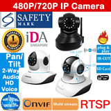Authentic Vstarcam IP Camera CCTV☆SD Card Slot☆Pan/Tilt☆720P HD☆Night Vision☆Wireless☆IDA Approved☆Safety Mark Adapter☆Free Android/iOS app etc